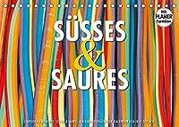 Emotionale Momente: Suesses und Saures. (Tischkalender 2022 DIN A5 quer): Ein kariesverdaechtiger und farbenfroher Planer fuer alle die gerne naschen. (Geburtstagskalender, 14 Seiten )