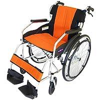 カドクラ 全10色 自走用車いす チャップス サンセットオレンジ A101-AO 介助用
