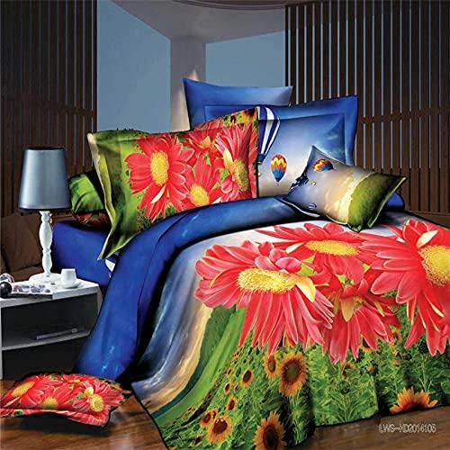 Bedclothes-Blanket Copripiumino Matrimoniale,Biancheria da Letto a Quattro Pezzi in Quattro Pezzi in Quattro Pezzi-FF_2,0 m