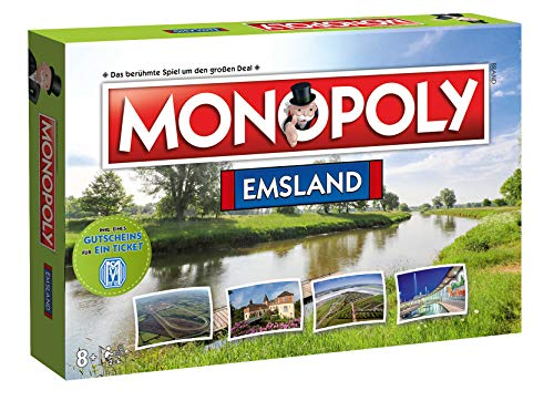 Winning Moves Monopoly Emsland Region Edition Spiel Ausgabe Spiel Juego de mesa
