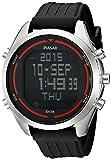 Pulsar Men's PQ2045 Digital Digital Display Japanese Quartz Black Watch