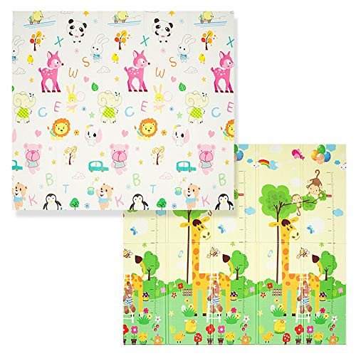 For Sale! Portable playmat Foldable Play Mat BPA Free Non-Toxic Foam Baby Playmat Thick Extra Large ...