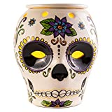 Scentsationals Day of The Dead Collection - Scented Wax Cube Warmer - Dia de Los Muertos Wax Fragrance Melter - Skull Wickless Electronic Home Air Freshener Gift