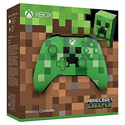 Official Xbox Wireless Minecraft Creeper Controller from Microsoft