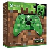 Microsoft Xbox One, Controller Wireless, Edizione Limitata Minecraft, Verde