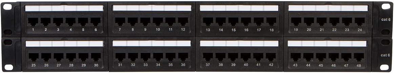 belden 48 port cat6 patch panel