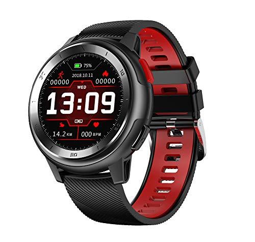 Reloj inteligente, reloj inteligente con pantalla táctil a color TFT de 1.2 pulgadas, rastreador de actividad física empresarial con Bluetooth, rastreador de actividad del contador de calorías, rel