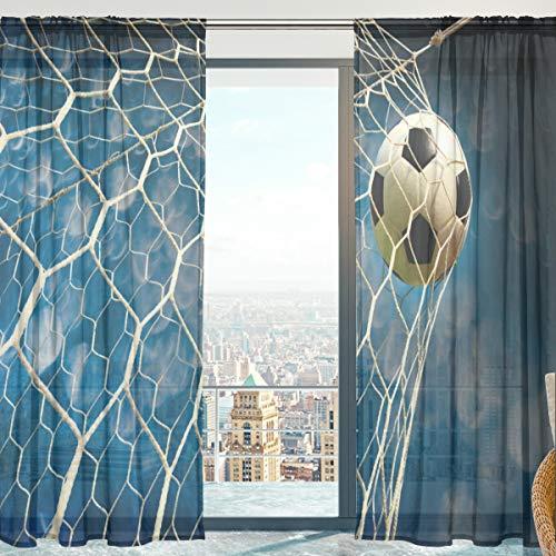 cortinas habitacion estores futbol