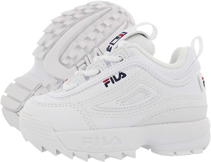 Fila disruptor kids ii infant`s white/navy/red (25 eu) 7FM00038 125