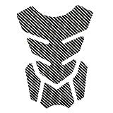 SUSHANCANGLONG Etiqueta de Motocicleta Pegatina Moto Gas Combustible Tanque de Tanques Protector Funda para Kawasaki