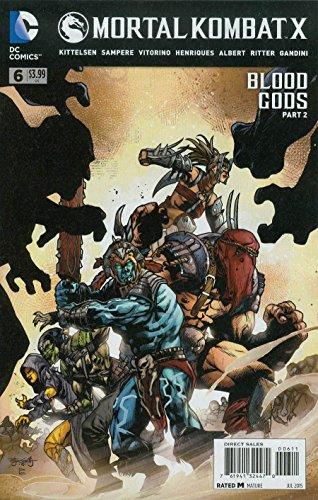 Mortal Kombat X #6 Comic Book
