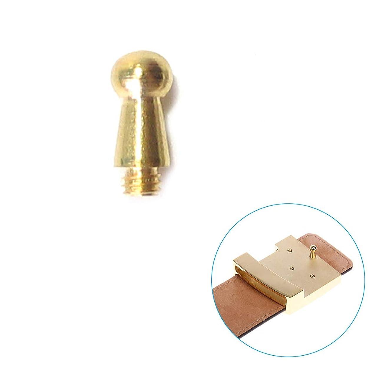 DIY Belt Buckle Screws Hook Replacement for Repair Belts Accessories (3MM, Gold)