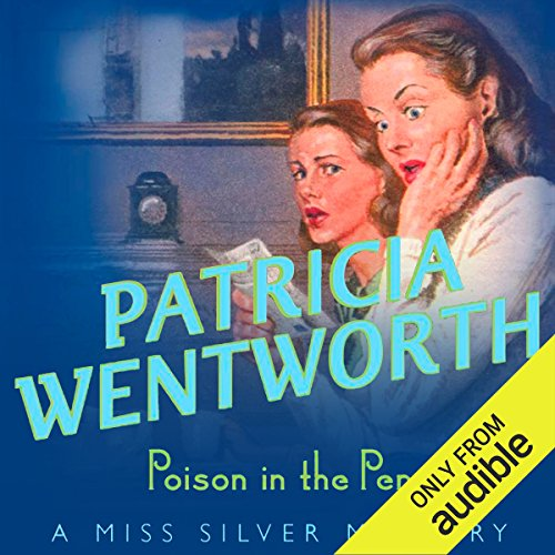 Poison in the Pen     Miss Silver, Book 29              By:                                                                                                                                 Patricia Wentworth                               Narrated by:                                                                                                                                 Diana Bishop                      Length: 8 hrs and 30 mins     112 ratings     Overall 4.4