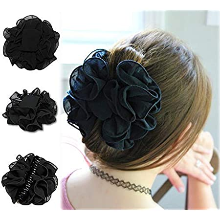 Details about  /Claw Clip Hair Accessory Aloha Flower Jaw Clip  Fun Looking Great Colors!