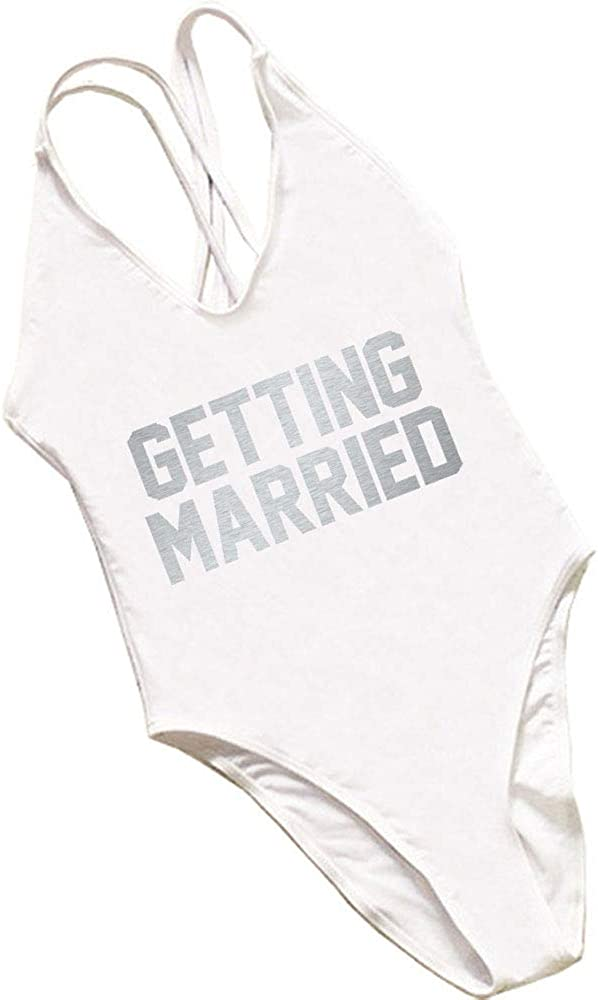 Getting Married Memphis Mall Bachelorette Party Gifts Super-cheap Swimwear Piece one Bath