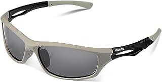 Duduma 偏光レンズ メンズスポーツサングラス 超軽量 UV400 紫外線をカット スポーツサングラス/ 自転車/釣り/野球/テニス/ゴルフ/スキー/ランニング/ドライブ TR90