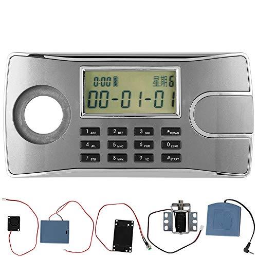 Caja de Cerradura, Caja de Cerradura electrónica Duradera, Pantalla LCD Inteligente para cajón de gabinetes de Puerta