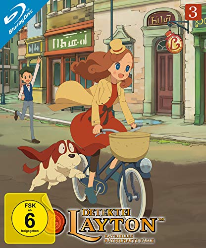 Detektei Layton - Katrielles rätselhafte Fälle: Volume 3 (Episode 21-30) [Blu-ray]