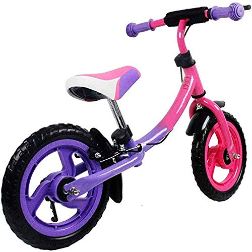 AJH Children's Balance Bike Child Scooter 3-7 Years Old Baby Two-Wheeled Non-Pedal Bicycle Toddler Toddler Scooter Best Gifts,B