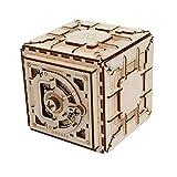 Honey Lockbox-Modell, DIY-3D-Montagemodell, zusammengebautes hölzernes Puzzlespielspielzeug, innovatives mechanisches Getriebemodell des Schlosses, Geschenke für Kinder und Erwachsene