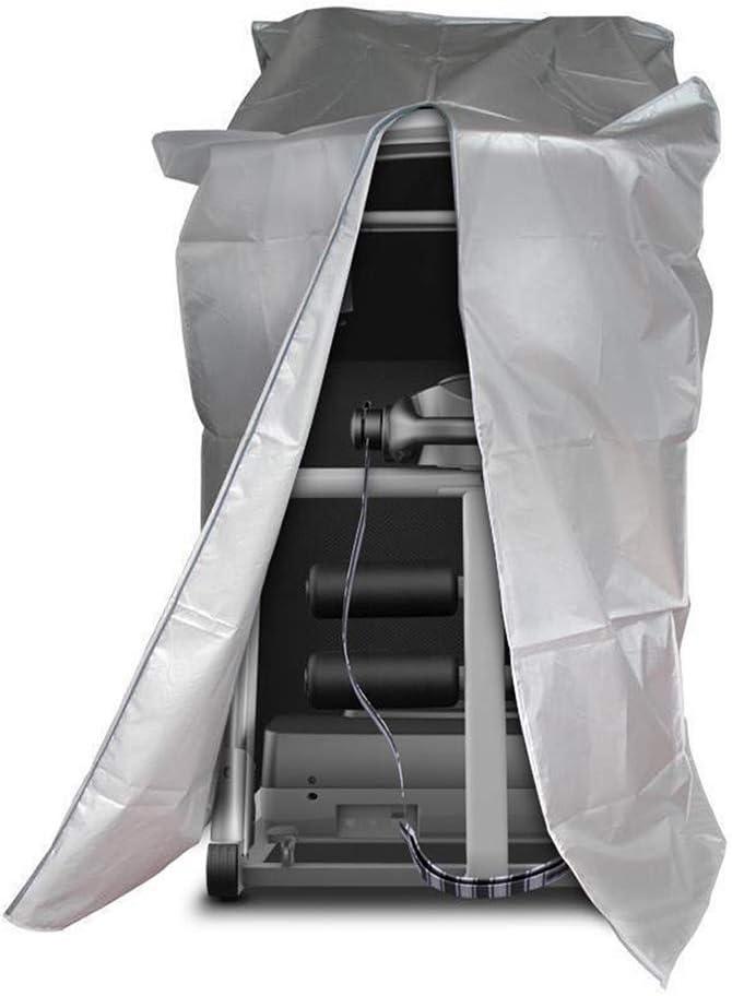 Pas de z/éro /Étanche 91x91x152cm 110 x 95 x 160 cm Noir Pour int/érieur et ext/érieur Anti-UV Noir Anti-UV Housse de protection universelle pour tapis de course