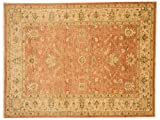 Teppichprinz Chobi-Ziegler 220x169cm Orientteppich Handgeknüpft Afghanistan Carpet Rug