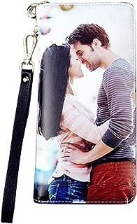Personalized Photo Wallet Women Leather Wallet Clutch Wallet with Wristlet handbag best gift for women