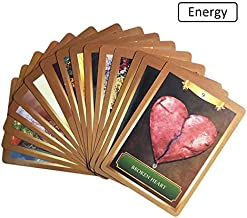 Love Oracle Cards - 4 Style English Beauty Oracle Cards Mysterious Fortune Tarot Cards Game Energy Wisdom Universe Goddess For Divination Fate Card