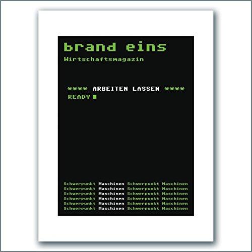 brand eins audio: Arbeiten lassen Titelbild