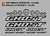Ecoshirt 8K-8CIA-WFY1 Aufkleber Ghost F188 Vinyl Adesivi Decal Aufkleber ・・・・llavero MTB...