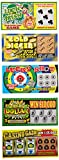 JA-RU Fake Lottery Ticket Scratch Tickets (5 Tickets / 1 Pack) Pranking Toys for Friend and Family Scratcher Jokes and Gag Winning Tickets Surprise. 1381-1C
