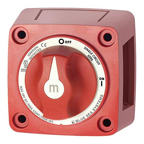 BLUE SEA - 300 A - Batterie Hauptschalter, m-Serie