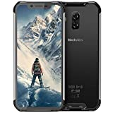 Telephone Portable Incassable, Blackview BV9600 Android 9.0 4G Smartphone, Helio P70 Octa-Core, Écran AMOLED de 6,21 Pouces,...