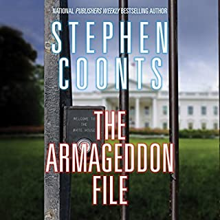 The Armageddon File audiobook cover art