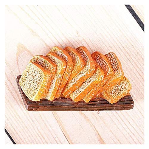Pegatinas de Pared Decoración del hogar Refrigerador magnético Pasta Notas pegajosas Máquina de Pan Tomate Huevo Pan Tetera Milk Modelo Frigorífico (Color : Chieftain)