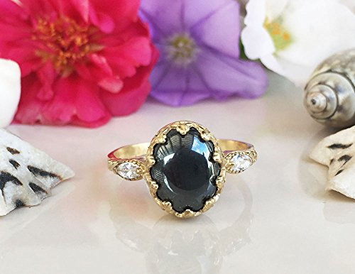 Details about  /Multi Gemstone 925 Sterling Silver 3-Stone Ring For Women Wedding Gift 258