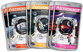 Astronaut Foods Freeze-Dried Banana Split Variety Pack, NASA Space Dessert, with Ice Cream Sandwich Neapolitan, Banana and...