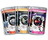 Astronaut Foods Freeze-Dried Banana Split Variety Pack, NASA Space Dessert, with Ice Cream Sandwich Neapolitan, Banana and Strawberry, 6 Count
