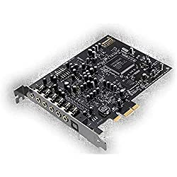 The Audigy RX is one of the best sound cards