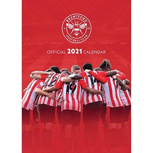 Brentford Football Club Official 2021 Calendar The Bees A3 Wall Calendar Format…
