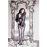 QWEAASD Poster, Anne Hathaway, klassisches Filmposter,