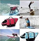 Hund Schwimmweste LIFE JACKET Schwimmen Vest Kleidung Oxford Ripstop Quick Release - 5