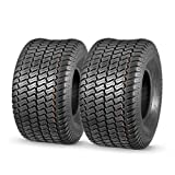 MaxAuto Set of 2 20x10-8 20x10x8 Lawn Mower Cart Turf Tires P332 4PR Load Range B