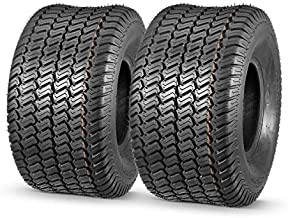 MaxAuto 2 Pcs 20x10-8 Lawn Mower Cart Turf Tires P332 4PR Load Range B