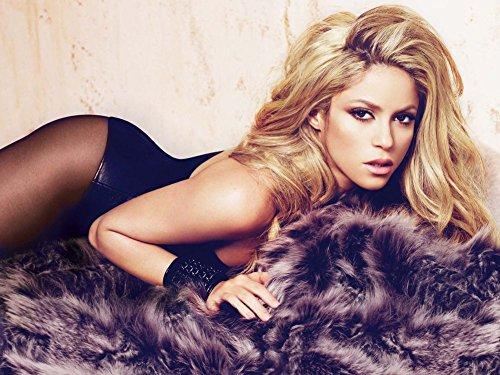 5-HO62CA Shakira 47cm x 35cm,19inch x 14inch Silk Print Poster