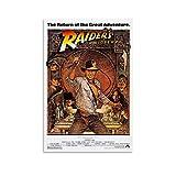 DSGFR Indiana Jones Filmposter, japanisches Anime-Poster,