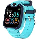 Kids Smart Watch with Call,Smart Watch for Kids, Kids SmartWatch with Camera, Watches for Kids with Touch Screen,SOS,Music Player,Calculator, Flashlight, Watch for Boys Girls Ages 4-12(Blue)