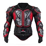 Giacca motocross motocicletta uomo Armatura completa per il corpo Imbottiture EVA Protezione per il torace Colonna vertebrale traspirante anti-caduta per bambini Bicicletta ATV MTB Off-Road Dirt Bike