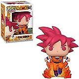 Dragon Ball Z Figura De Vinilo Pop Toys # 827 Super Saiyan God Goku (Pelo Rojo) Figura De Acción Muñeca Juguetes Regalos para Niños Niños