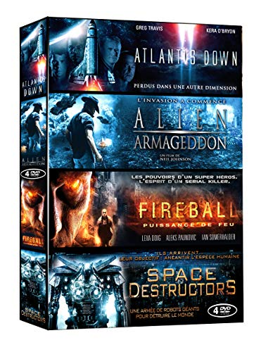 Science-Fiction : Atlantis Down / Alien Armageddon / Fireball / Space Destructors